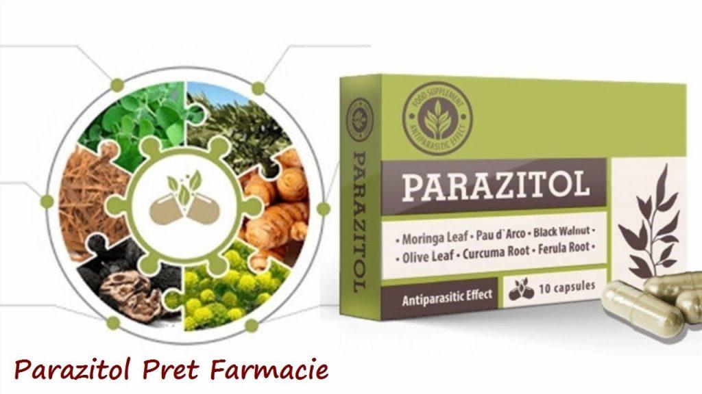 parazitol pret farmacie